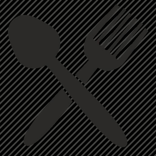 cook, fork, kitchen, spoon icon