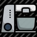 electric, mixer, kitchen, food, appliance, processor, blender