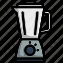 blender, white, equipment, machine, mixer, lineart, mixing
