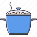 chef, cook, cooking, kitchen, pan icon