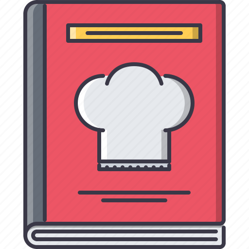 book, chef, cook, cooking, kitchen, recipe icon