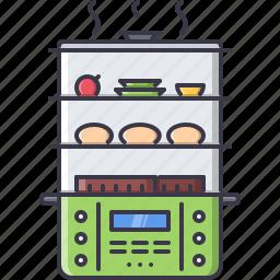 chef, cook, cooking, kitchen, steamer icon
