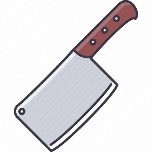 chef, cleaver, cook, cooking, kitchen, knife icon