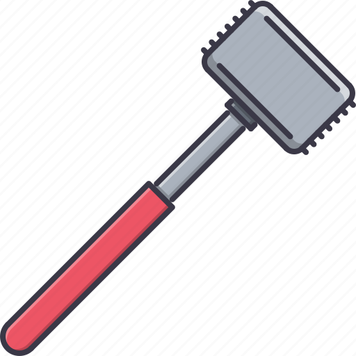 Chef Cook Cooking Hammer Kitchen Meat Icon Download On Iconfinder