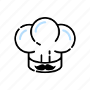 chef, chefhat, cook, cooking, kitchen icon