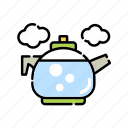 boil, boiler, cooking, cookware, kettle, kitchen, tea pot icon