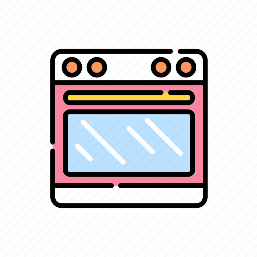 cooking, cooking machine, cookware, heat, kitchen, microwave, oven icon