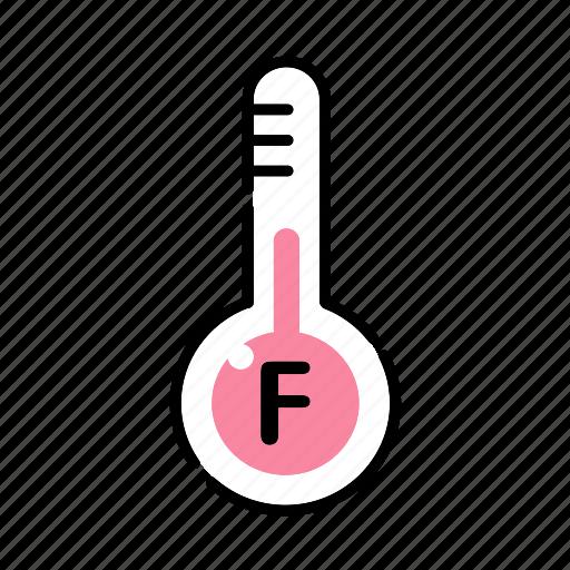 cooking, fahrenheit, kitchen, temperature, thermometer icon