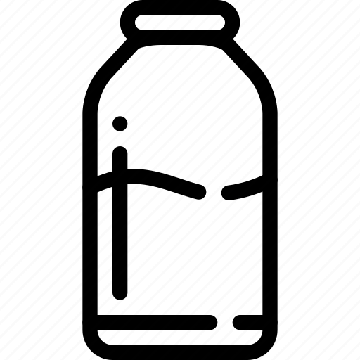 bottle, liquid, milk icon