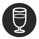 alcohol, bar, cup, glass, kitchen, wine, wineglass icon