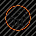 performance, server, speed icon