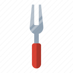 carver, cook, food, fork, kitchen, meal icon