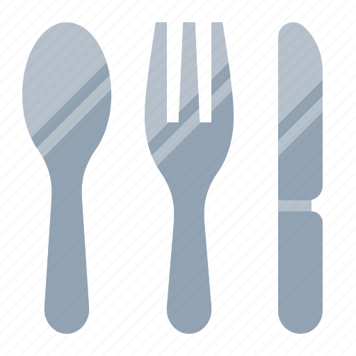 cook, food, fork, kitchen, knife, silverware, spoon icon
