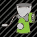 appliance, cooking, grinder, kitchen, meat