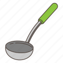 appliance, cooking, kitchen, ladle
