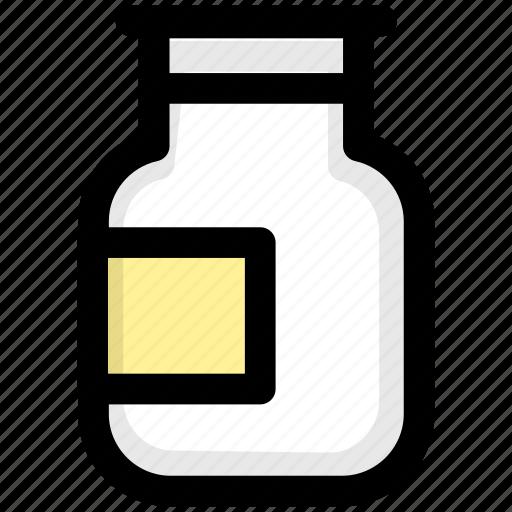 bottles, condiment, cooking, kitchen icon