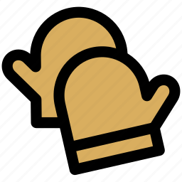 glove, gloves, mitten, protection icon