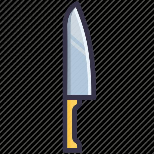 cooking, cutlery, kitchen, knife, range, tool, utensil icon