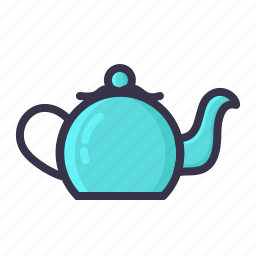 kettle, kitchen, pot, teakettle, teamaker, teapot, utensil icon