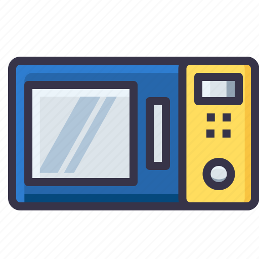 cooking, electronic, equipment, kitchen, microwave, oven, tool icon