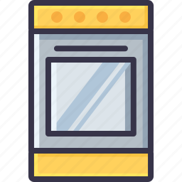 appliance, bakery, cooker, cooking, kitchen, microwave, oven icon