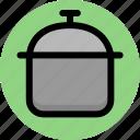 appliances, cooking, kitchen, pot, utensil icon
