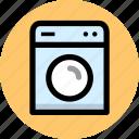 appliance, appliances, laundry, washing, washing machine icon