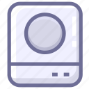 cooking, induction cooker, kitchen icon