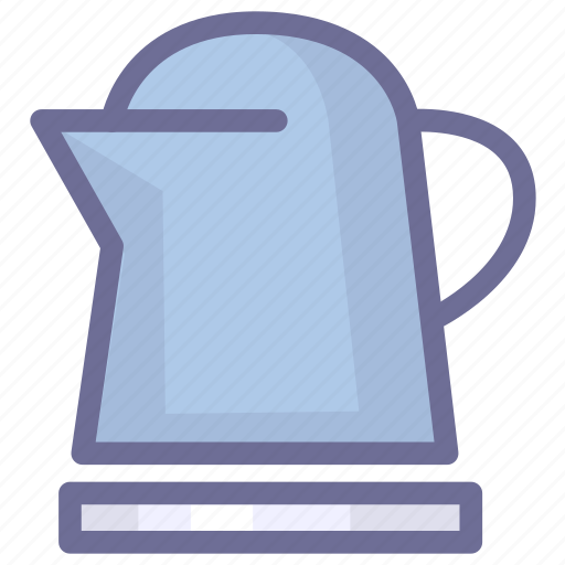 kitchen, teapot, water icon