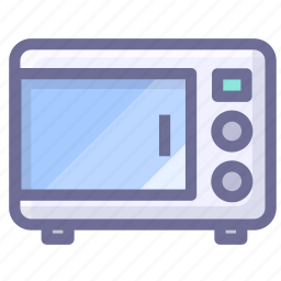 cooking, kitchen, microwave oven icon