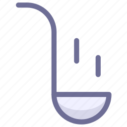 cooking, soup, spoon icon