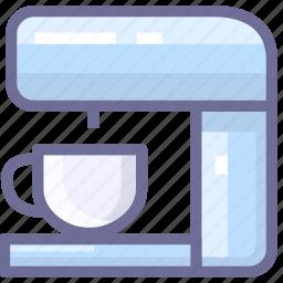 coffee, coffee machine, kitchen icon