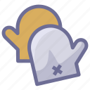 cooking, gloves, kitchen icon