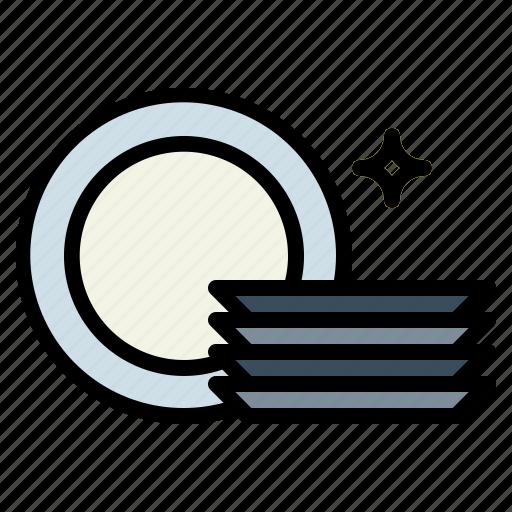clean, dish, dishes, dishware icon