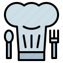 chef, chefs, cooking, hat, kitchen icon