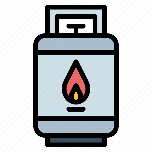 cooking, fire, flame, gas icon