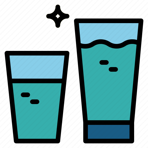 Drink, glass, of, soda, water icon - Download on Iconfinder