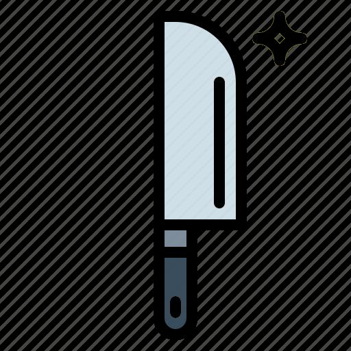cut, cutlery, cutting, knife icon
