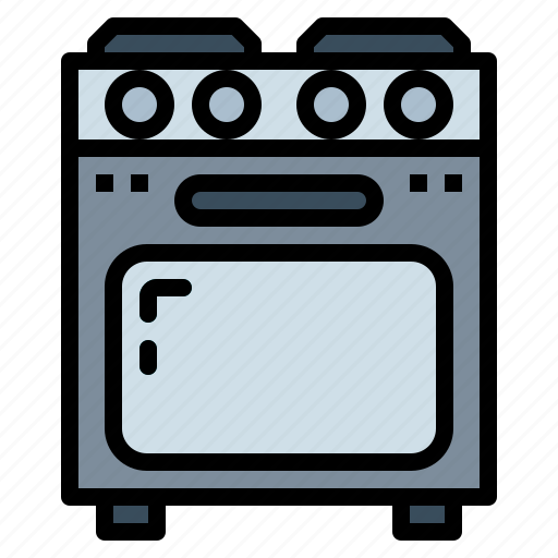 cooking, gas, kitchenware, stove icon
