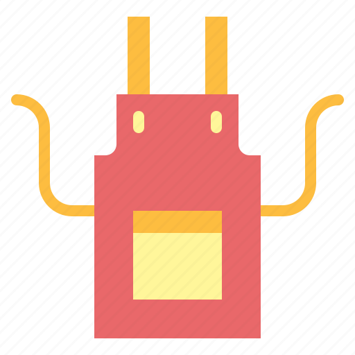 apron, cooking, kitchen, protection icon