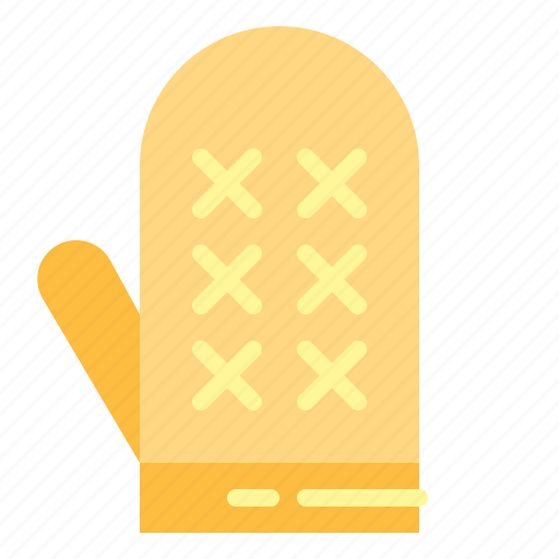 gloves, kitchen, mitten, protection icon