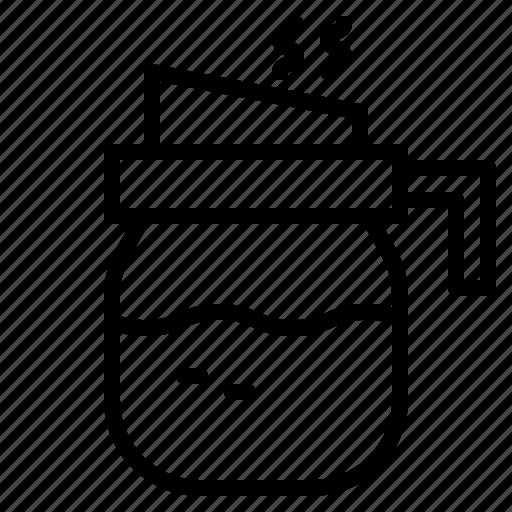 coffee, drink, hot, pot, shop, tea icon