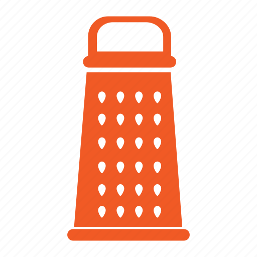 cooking, furnishings, grater, household, indrigient, kitchen, tool icon