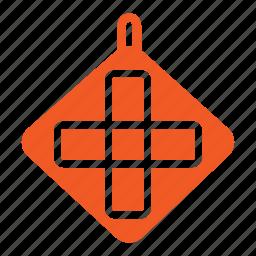 holder, household, kitchen, potholder, repair, tool icon