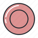 filled, food, kitchen, plate, set icon