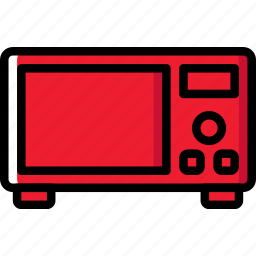cooking, food, kitchen, microwave icon