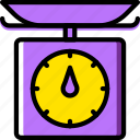 cooking, food, kitchen, scale icon