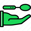 cooking, food, give, kitchen, spoon icon