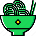 cooking, food, kitchen, pasta icon