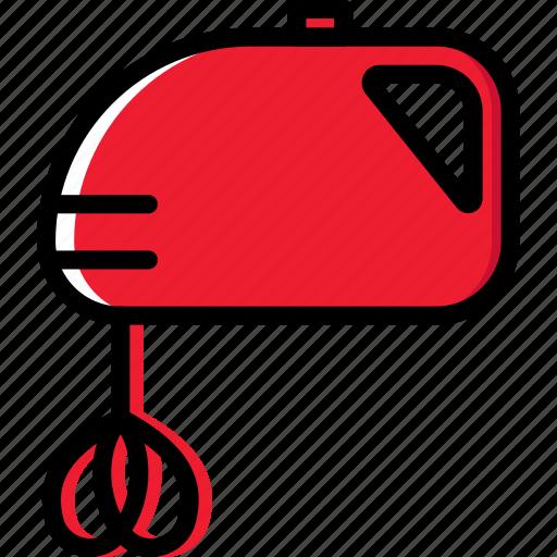 cooking, food, kitchen, mixer icon